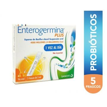 ENTEROGERMINA PLUS X 5...