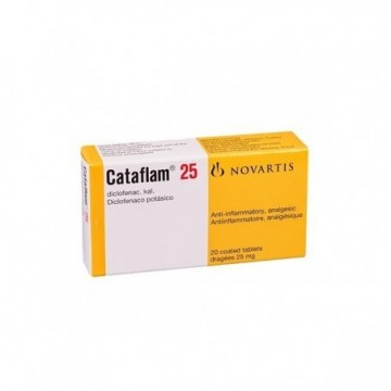 CATAFLAM 25 MG X 20...