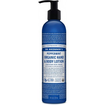 DR BRONNER'S LOTION...