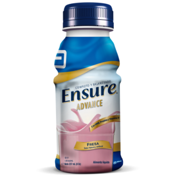 ENSURE ADVANCE FRESA  X 237 ML