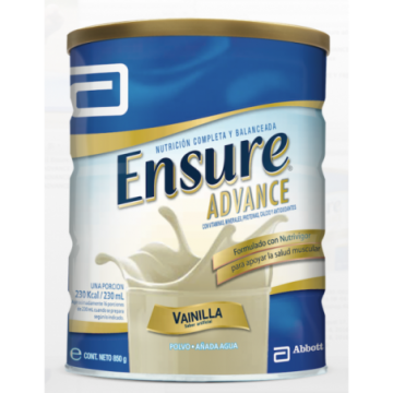 ENSURE ADVANCE VAINILLA X...