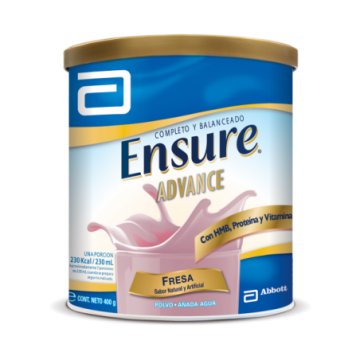 ENSURE ADVANCE  FRESA 400 GRS