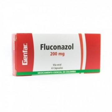 FLUCONAZOL GENFAR 200 MG X...