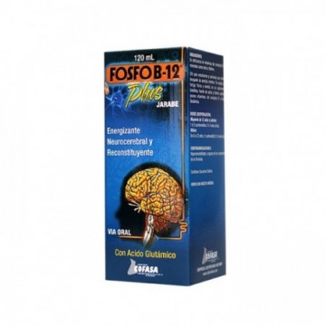 FOSFO B12 PLUS JARABE X 120 ML