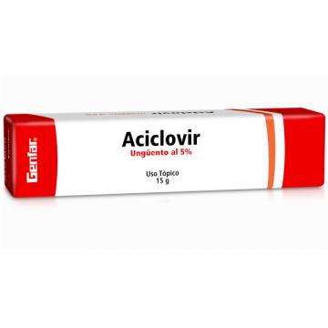 ACICLOVIR 5% UNGÜENTO X 15...