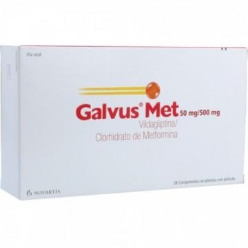 GALVUS MET 50/500 MG X 56...