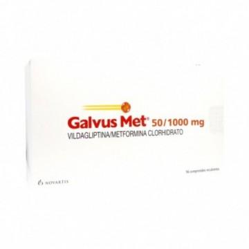 GALVUSMET 50/1000 MG  X 56...