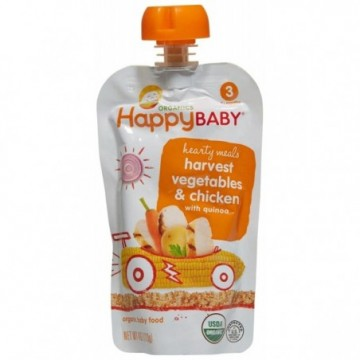 HAPPY BABY HEARTY MEALS...