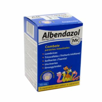 ALBENDAZOL MK 400 MG/10ML...