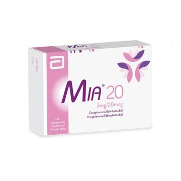 MIA 20 X 28 COMPRIMIDOS