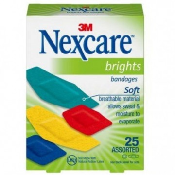 3M NEXCARE BRIGTHS BANDAGES...