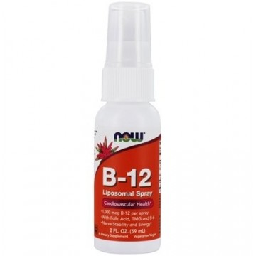 NOW FOODS, B-12 LIPOSOMAL...