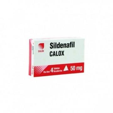 SILDENAFIL 50MG CALOX X 4...