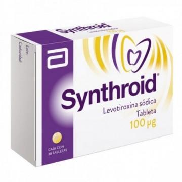 SYNTHROID 100 MCG X 30...