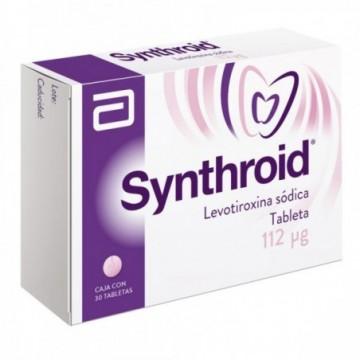 SYNTHROID 112 MCG X 30...