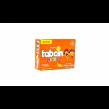 TABCIN NIÑOS X 12 TABLETAS...
