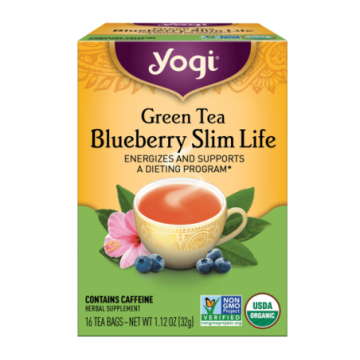 YOGI GREEN TEA BLUEBERRY...