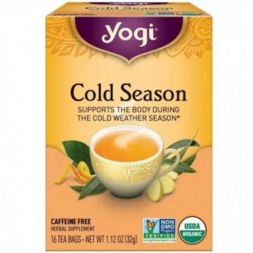 YOGI TEA COLD SEASON 16 X 16