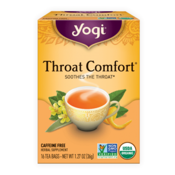 YOGI TEA THROAT COMFORT X 16