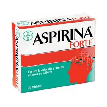 ASPIRINA FORTE X 20 TABLETAS