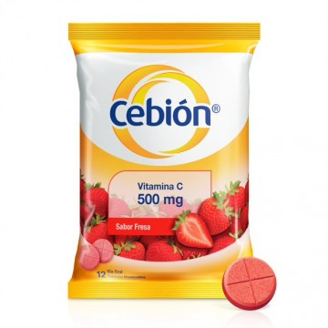 CEBIÓN VITAMINA C 500 MG...