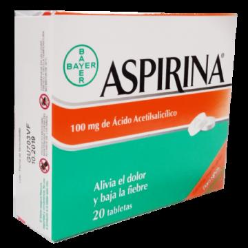 ASPIRINA INFANTIL 100 MG X...