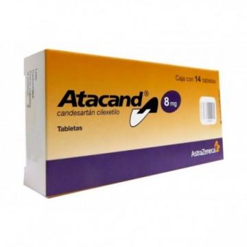 ATACAND 8 MG X 14 TABLETAS...